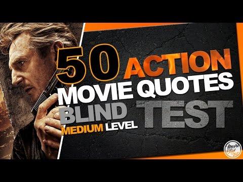 BLIND TEST ACTION movies : 50 medium quotes [OV]