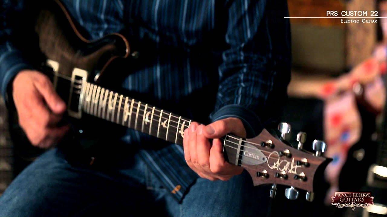 PRS Custom 22 Electric Guitar - YouTube