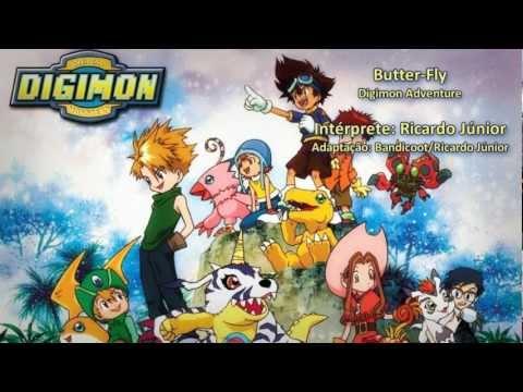 Digimon Adventure - Abertura em Português BR - Butter-Fly (Full Version)