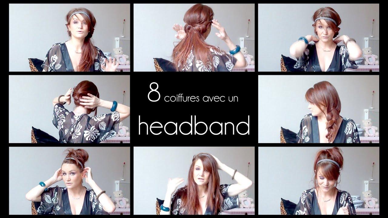 8 coiffures d 39 t avec un headband youtube. Black Bedroom Furniture Sets. Home Design Ideas