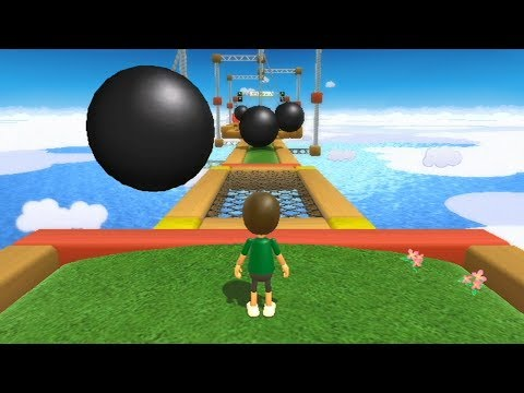 Wii Fit Plus - Obstacle Course (All Levels)