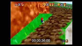 SM64 Green Demon Challenge - BOB - 1:33:09