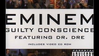 Eminem ft. Dr. Dre - Guilty Conscience- Lyrics - Dirty - HD