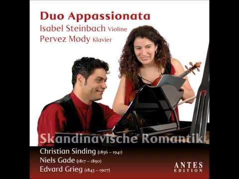 Sinding sonata op 73  1st mov. violin: ISABEL STEINBACH piano: PERVEZ MODY