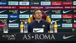 """Conferenza Di Francesco: """"Ai tifosi chiedo sostegno. La squadra si è allenata con la testa giusta"""""""