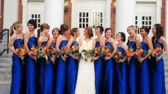 Blue Bridesmaid Dresses & Gowns