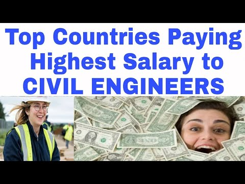 Top 12 Salary Paying Countries for Civil Engineers 2021