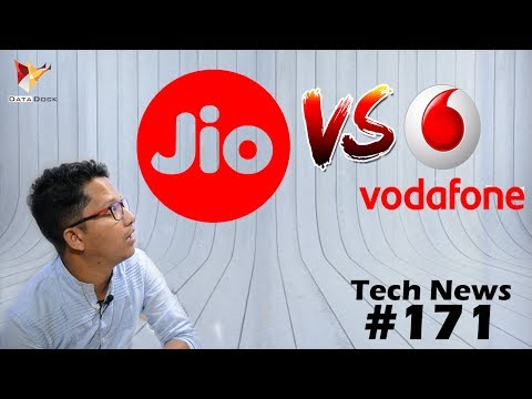 Tech News of The Day #171-Jio Vs Vodafone,Asus ZenFone Live,360 N5s,Honor Play Pad 2,BSNL Sim Price