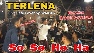 Terlena - Ikke Nurjanah (Ska Akustik Version) | Live Cafe Cover by Skaustik