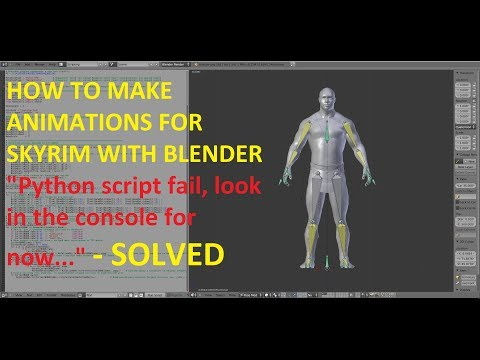 HOW TO MAKE AN ANIMATION FOR SKYRIM WITH BLENDER at Skyrim