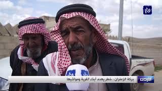 بركة مياه تهدد حياة الأهالي في قرية الزعفران بالجيزة - (3-4-2019)