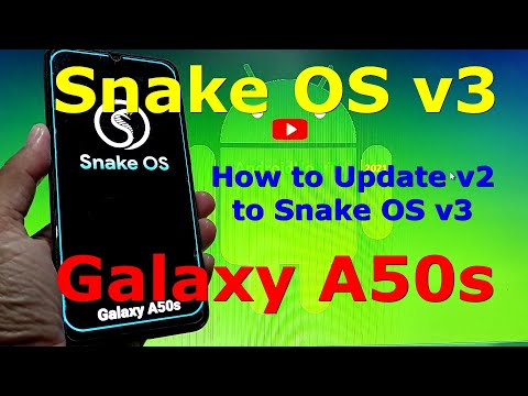 Snake OS v3 for Samsung Galaxy A50s Android 11 One UI 3.1