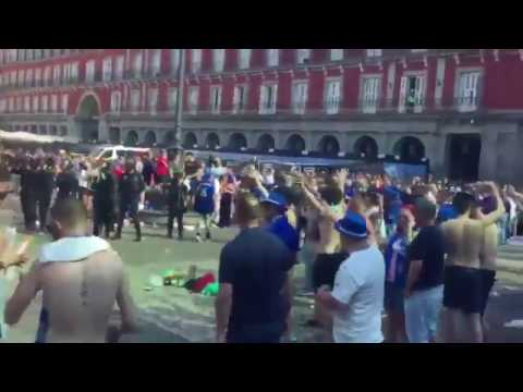 Leicester City Fans Cause Disturbance in Madrid Ahead of UCL Game