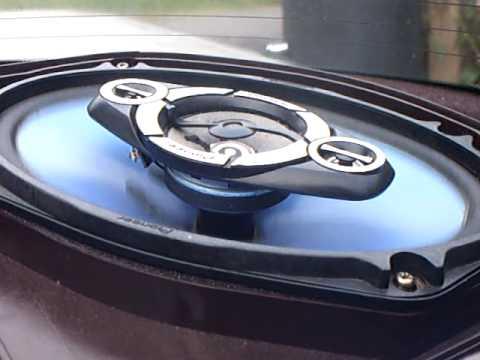pioneer 6x9 speakers. pioneer speaker bass test 6x9 speakers
