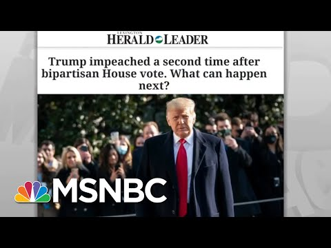 'Historic Disgrace' Of Trump's Impeachments Likely His Most Enduring Legacy | Rachel Maddow | MSNBC