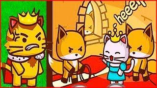 В ПОИСКАХ ПРИНЦЕССЫ Ударный отряд котят 2 мультик игра StrikeForce Kitty от Фаника