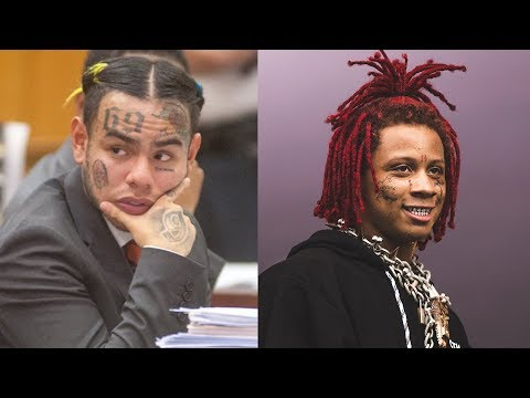 6IX9INE Snitches On Trippie Redd, 'GUMMO' And 'KOODA' Video Gets Played In Court For Evidence