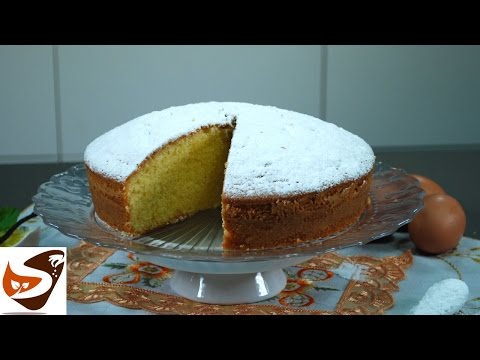 Torta paradiso: soffice e alta – torte da forno (margherita cake)