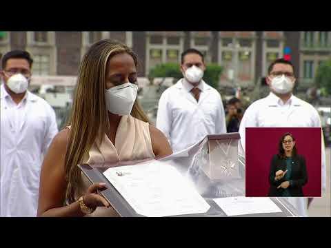 Personal de Salud recibe Condecoración Miguel Hidalgo | Imag