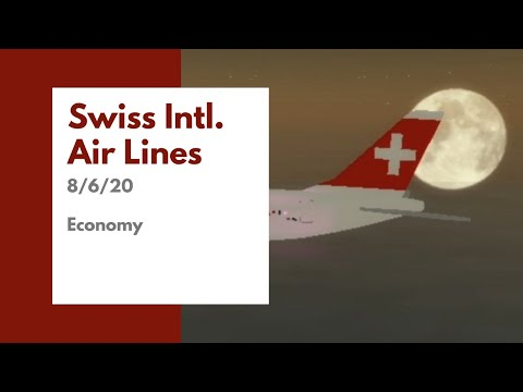 Swiss International Air Lines | 8/6/20 | Economy