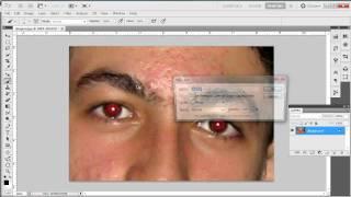 Vídeo aula Photoshop cs5 -  Retirando Olhos Vermelhos -Aula 09