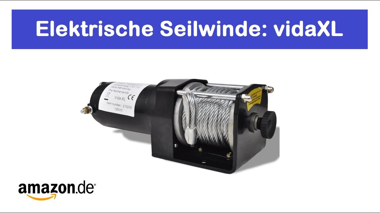 Elektrische Seilwinde vidaXL / 1360 kg / 12V - www.meinquad24.de ...