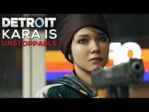 Kara is Unstoppable (All Humans Kara Killed) - DETROIT BECOME HUMAN |