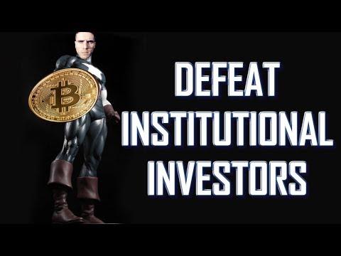 Defeat Institutional Investors In Crypto