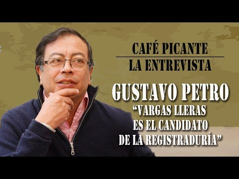 GUSTAVO PETRO EN CAFÉ PICANTE
