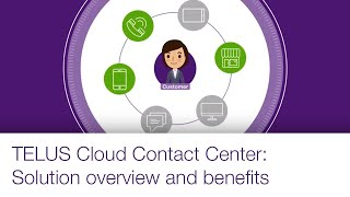 TELUS Cloud Contact Center: Solution overview and benefits