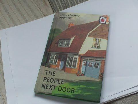 BOOK REVIEW, THE LADYBIRD BOOK OF THE PEOPLE NEXT DOOR