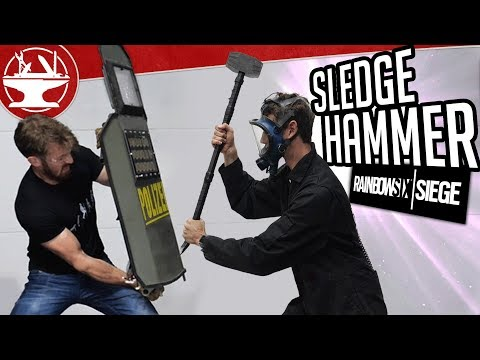 Sledge's Tactical Hammer DESTROYS ALL (from R6 SIEGE)