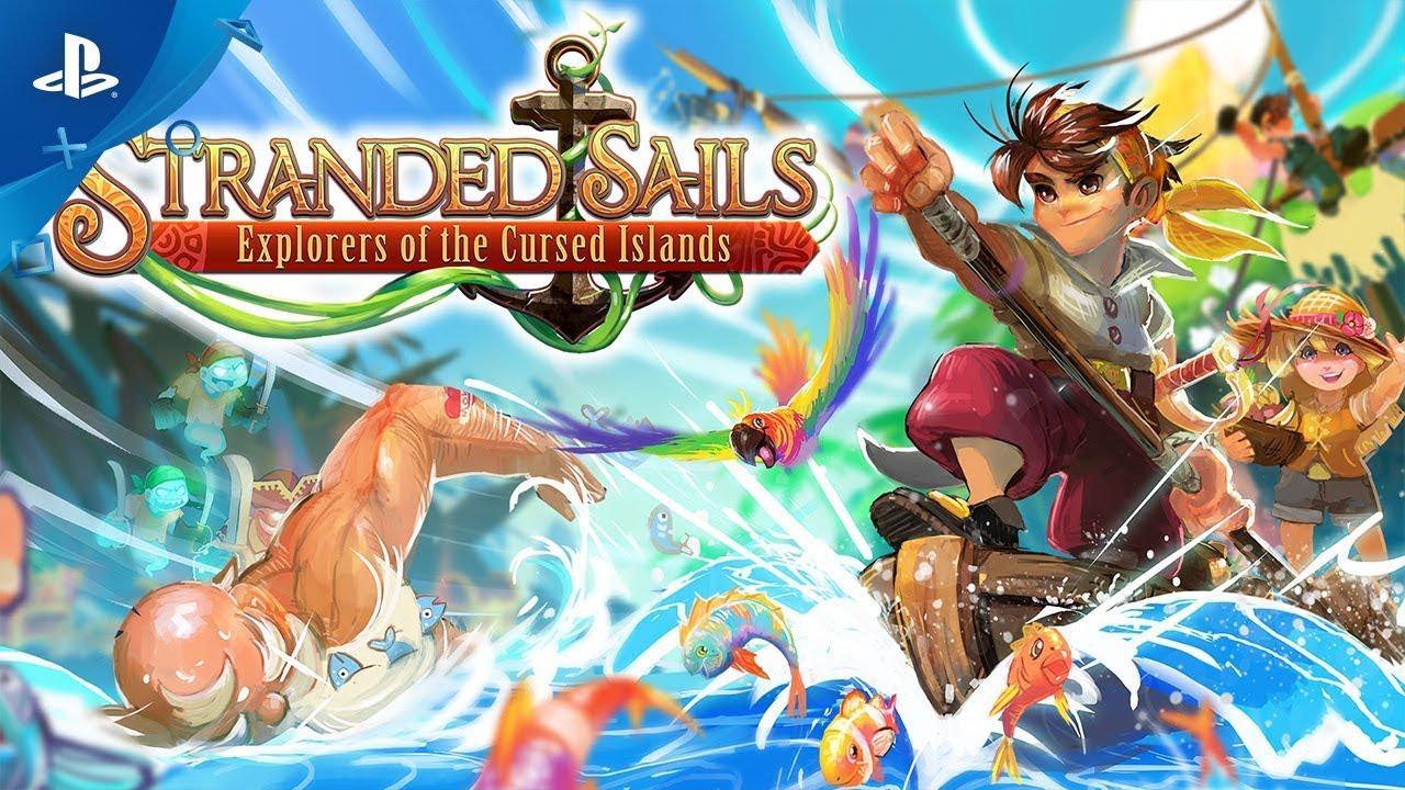 Stranded Sails: Explorers of the Cursed Islands - Launch Trailer | PS4