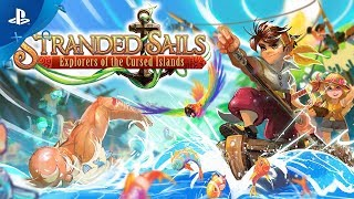 Stranded Sails: Explorers of the Cursed Islands - Launch Trailer   PS4