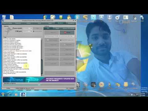 Samsung Wave Y GT S5380 Flashing & Read Network Unlock  Code By Octoplus Samsung Tool
