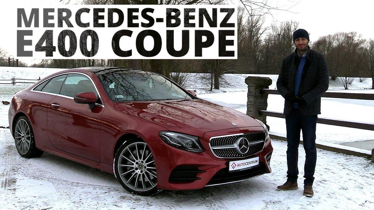Mercedes-Benz E400 Coupe 3.0 V6 333 KM, 2018 – test AutoCentrum.pl #371