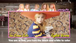 [ENGLISH VERSION] Red Velvet (레드벨벳) - Ice Cream Cake