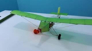 avião feito de bambu #aeromodelismo