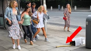 That Snake was so Terrifying: Everyone Started Running|: SNAKE PRANK