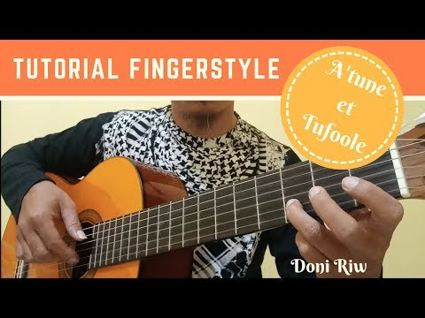 A'tuna Tufoole Fingerstyle Guitar Tutorial - اعطونا الطفولة
