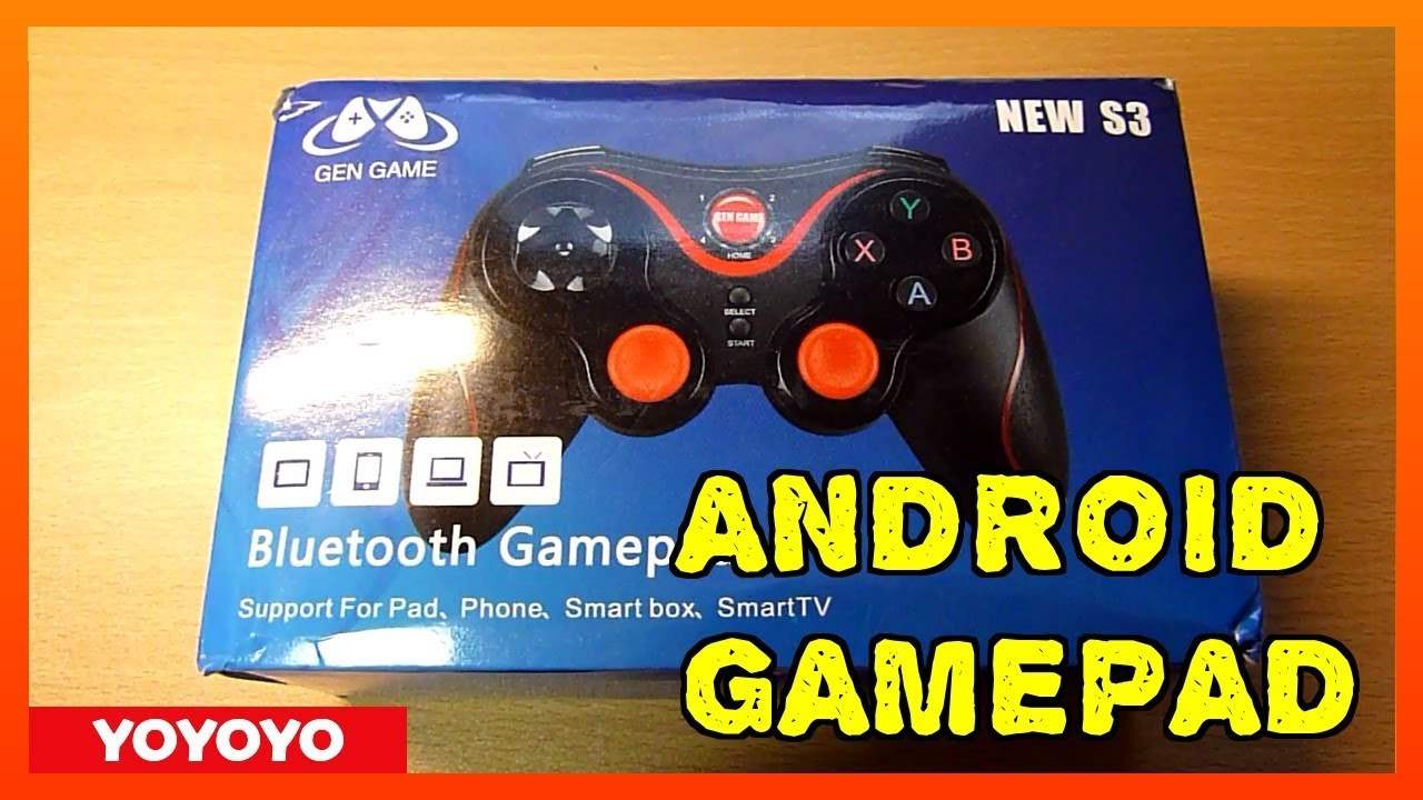 GamePad for Android GEN GAME NEW S3 -Review