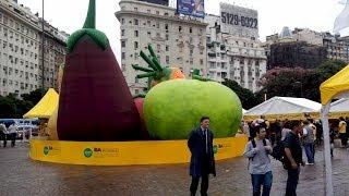 Аргентина. Всесвітній день здоров'я в Буенос-Айресі.