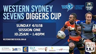 2018 Western Sydney Sevens - Diggers Cup - Sunday Session One