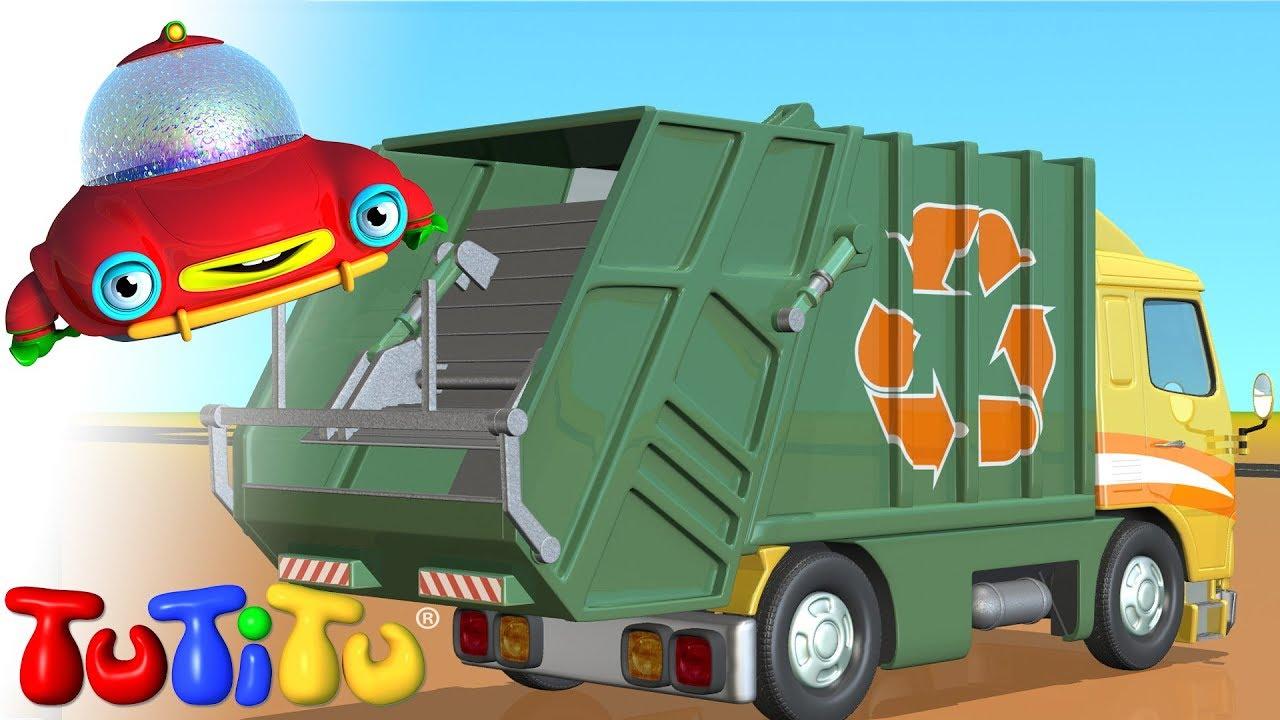 TuTiTu Camión de basura - YouTube