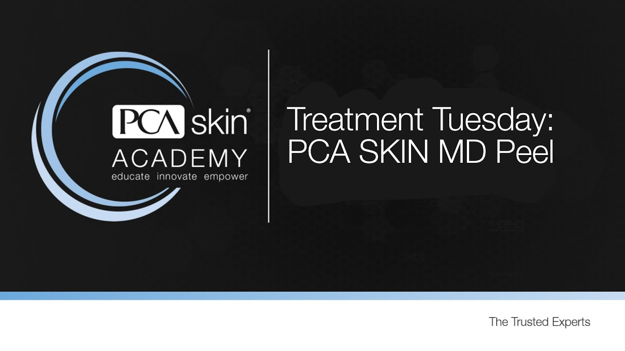 Click to open this video in a pop-up modal: Treatment Tuesday: MD Peel (CCl3)