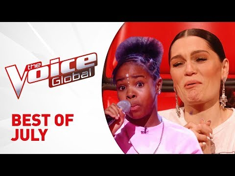 BEST of JULY 2019 in The Voice Kids