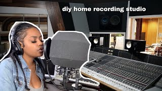 DIY RECORDING STUDIO | WILL I MAKE A GOOD SONG?