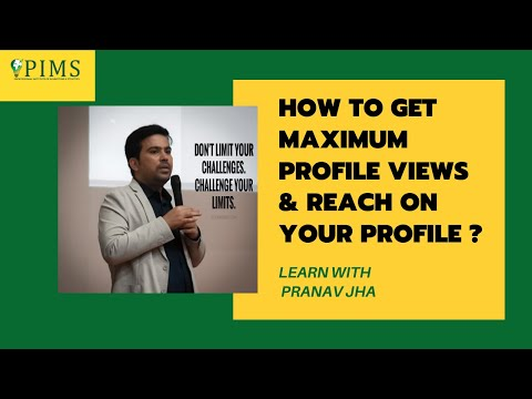 How To Get Maximum Profile Views And Reach On Your LinkedIn Profile  ( In Hindi )