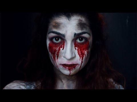 Makeup tutorial : Bloody Mary - YouTube