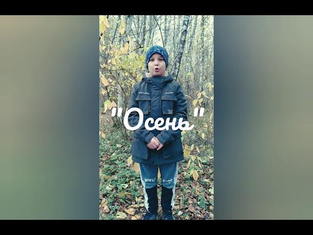 Изображение предпросмотра прочтения – ДимаВойнов читает произведение «Осень» С.А.Есенина